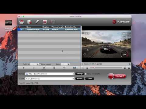 Convert Screenflow Recordings To MP4, AVI, MOV On Mac.