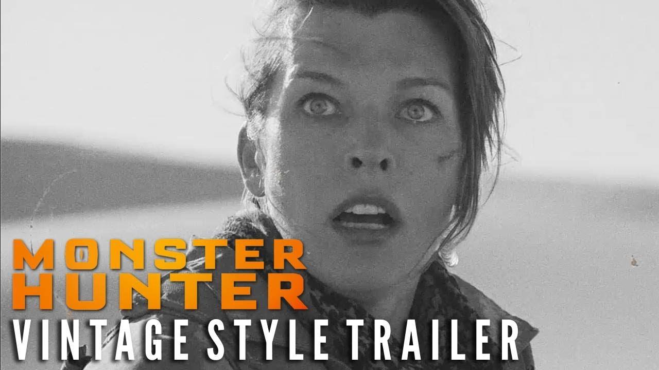 MONSTER HUNTER - Vintage Style Trailer | Now on 4K Ultra HD!