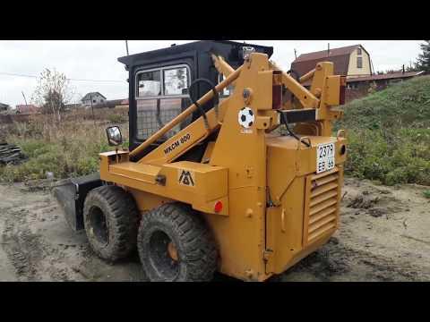 МКСМ 800 Маленький трактор