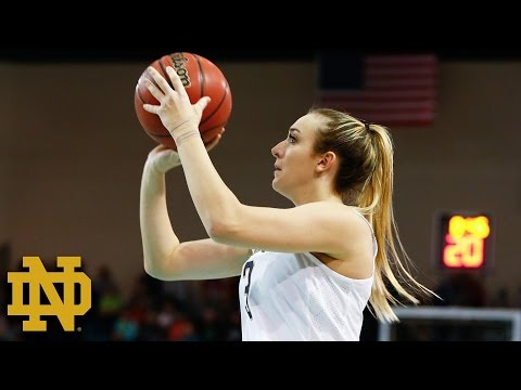 Notre Dame's Marina Mabrey Leads Irish to 4th Straight ACC Title Game