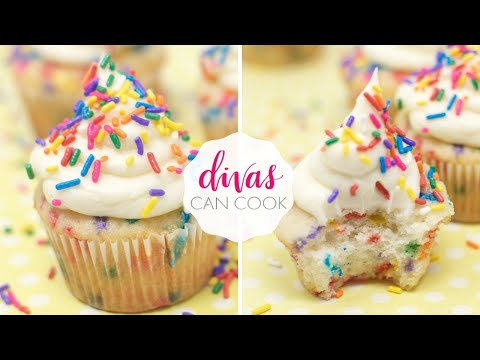 How to Make Funfetti Cupcakes From Scratch!