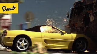 Top 10 Best Movie Car Chase Scenes From the 90's | Donut Media