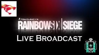 Rainbow Six Siege Live Broadcast (Full squad Friday)