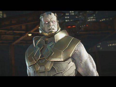 Injustice 2 - Darkseid All Intro/Interaction Dialogues