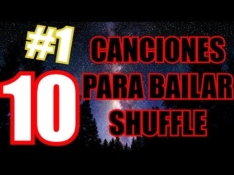 10 CANCIONES PARA BAILAR SHUFFLE / CUTTING SHAPES / KONIJNENDANS BY DAVID GARCÍA