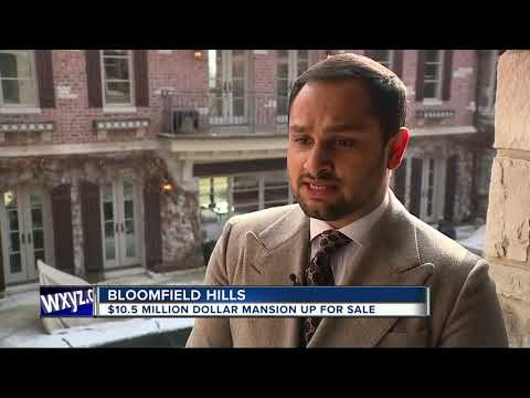 $10.5 million Bloomfield Hills mansion hits the market