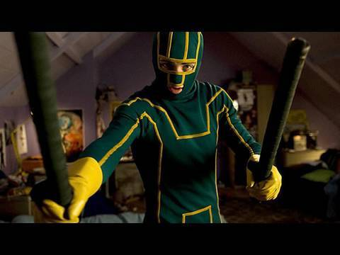 'Kick-Ass' Movie review by Kenneth Turan
