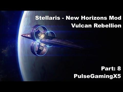 Vulcan Power! Stellaris - New Horizons Mod - Vulcan Rebellion, Let's Play Part 8