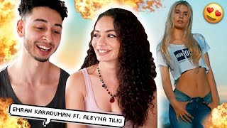 Emrah Karaduman - Cevapsiz Cinlama Ft Aleyna Tilki | TURKISH REACTION | Jay & Rengin