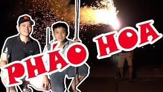 DMP Vlogs - Thử Làm Và Đốt Pháo Hoa Tự Chế Siêu Đẹp Và Siêu Bá Đạo Nhất Việt Nam