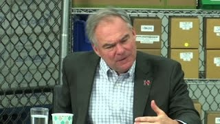 Kaine Hits Trump on Hiking Rent at Trump Tower
