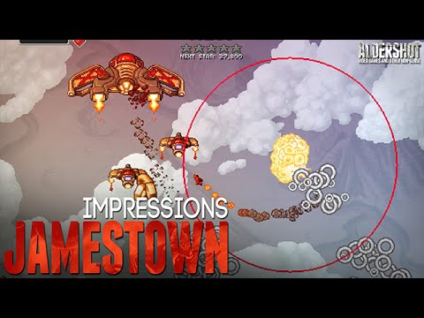 Jamestown: Impressions (shoot'm up, shmup, Indie Game, Gameplay, and Review)