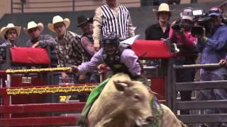 Jordan Spears PRCA Xtreme Bulls Fort Mojave Winner