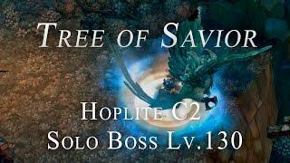 Tree of Savior: Hoplite C2 Solo Boss Sparnashorn (Lv.130)