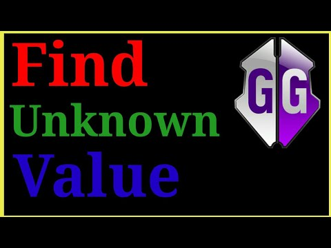 How To Find Values For Game Guardian    Unknown value