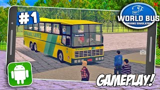 World Bus Driving Simulator - Primeira Gameplay Android!