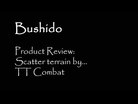 Bushido 12   Product Review   Scatter Terrain By TT Combat
