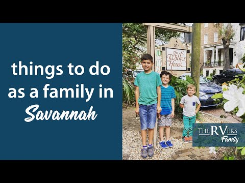 Things to do in Savannah with Kids (hint: Visit The Wilkes House and Fort Pulaski)