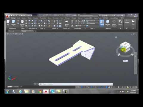 3D Modeling 03-14 View Cube Settings Dialog Box Display