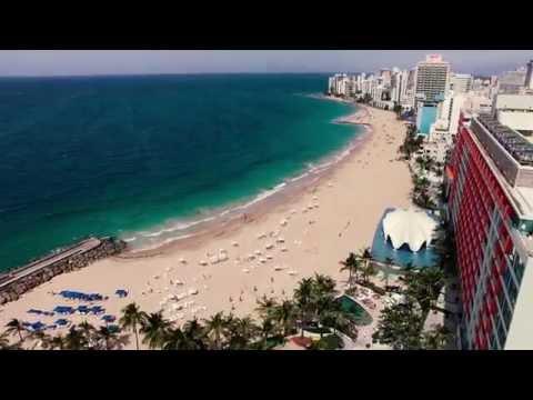 San Juan Puerto Rico Drone Footage