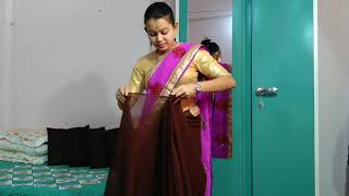 Indian women how to wear saree…