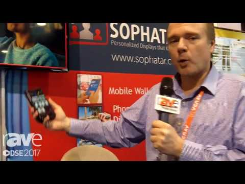DSE 2017: Sophatar Features Proximity Digital Signage Interactive Display Software