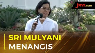 Tangis Haru Menkeu Sri Mulyani Saat Lebaran di Tengah Pandemi - JPNN.com