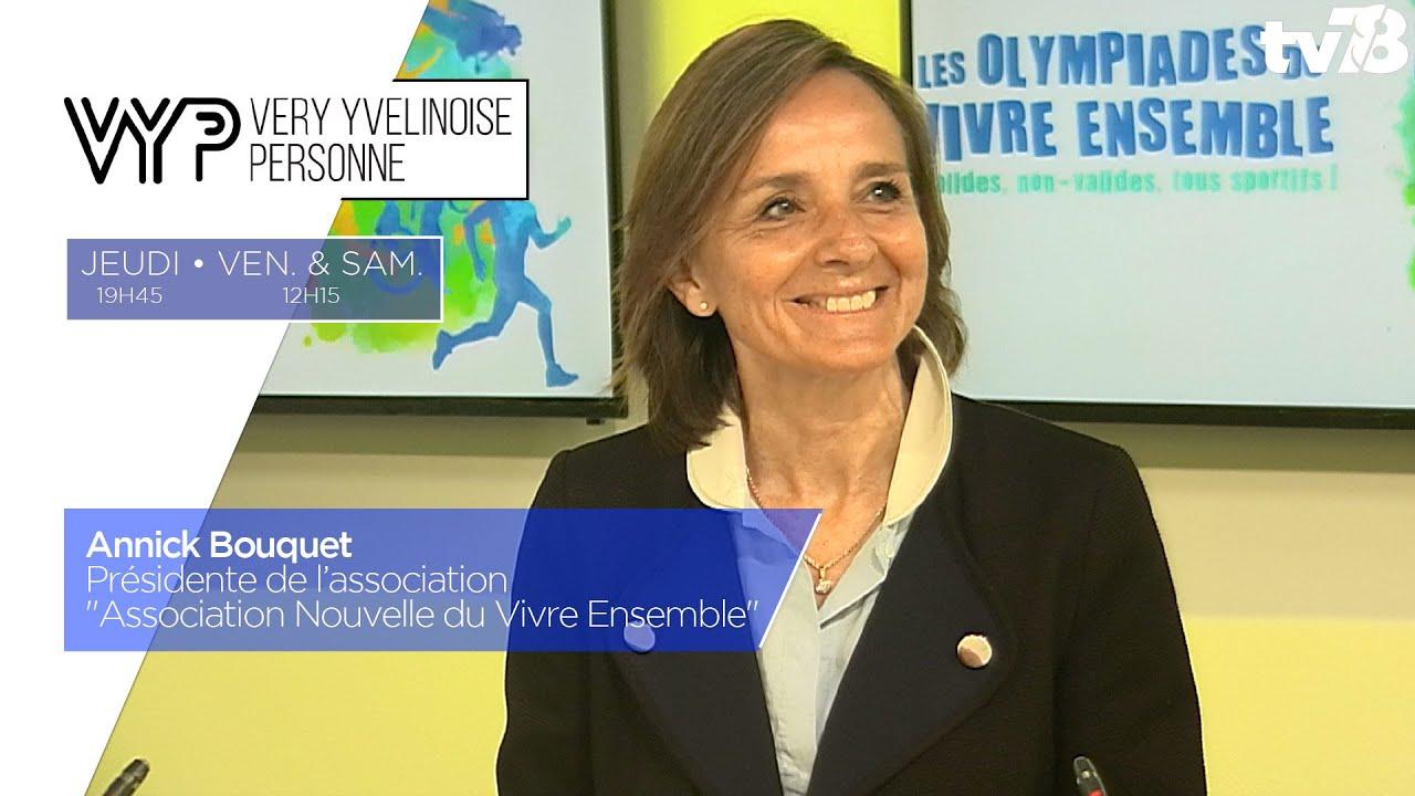 """VYP. Annick Bouquet, Présidente de """"Association Nouvelle du Vivre Ensemble"""""""