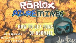[ROBLOX] Azure Mines: So bekommen Sie Tonnen von Boomit