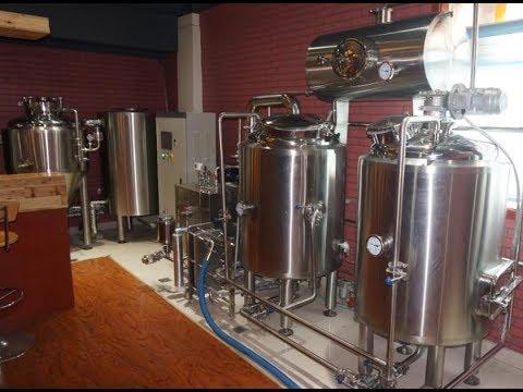 200L Micro Brewery Brewpub Equipment