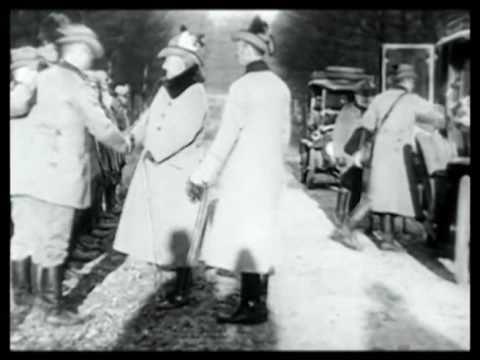 Kaiser Wilhelm of Germany Hunts Deer