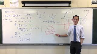 Interesting Inequality Proof w/ Inverse Trig (2 of 2: Davin's Sneaky Proof)