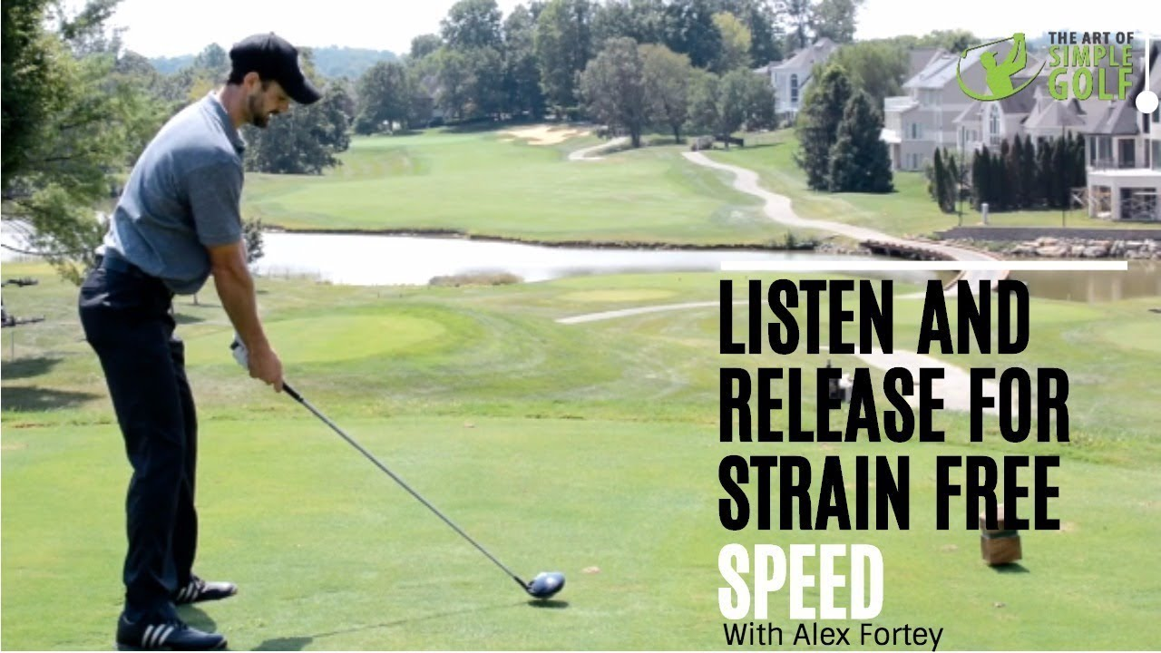more golf swing speed and power | listen and launch - youtube