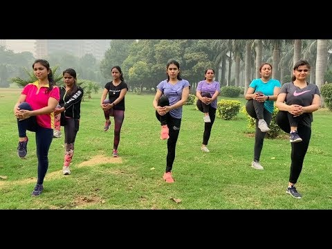 Winter WORKOUT with my Subscribers | Full body exercise NO gym No equipment to Lose 5 kgs fast