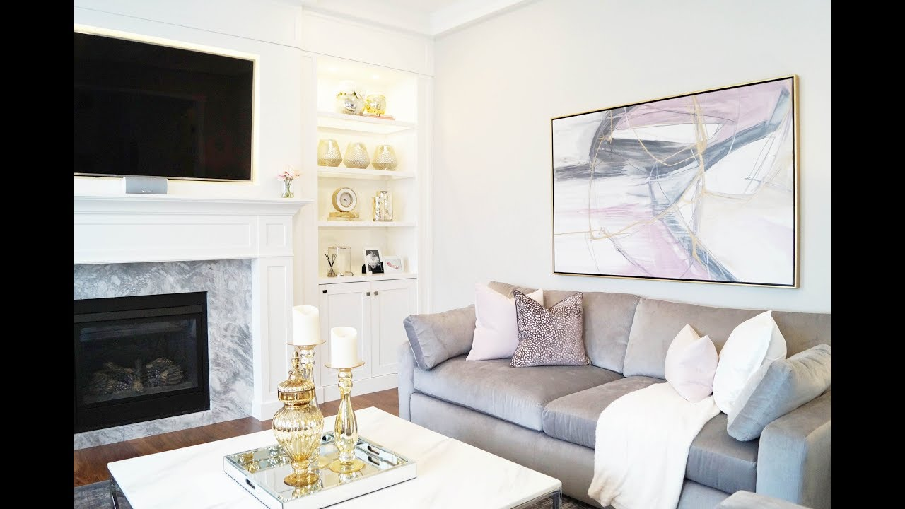 Living Room Makeover - Kimmberly Capone Interior Design - YouTube