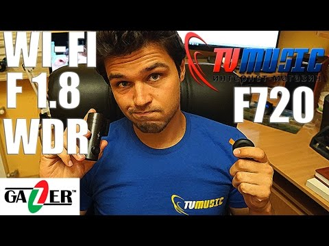 Видеоегистратор Gazer F720 с сенсором Sony Exmor и Wi-Fi.