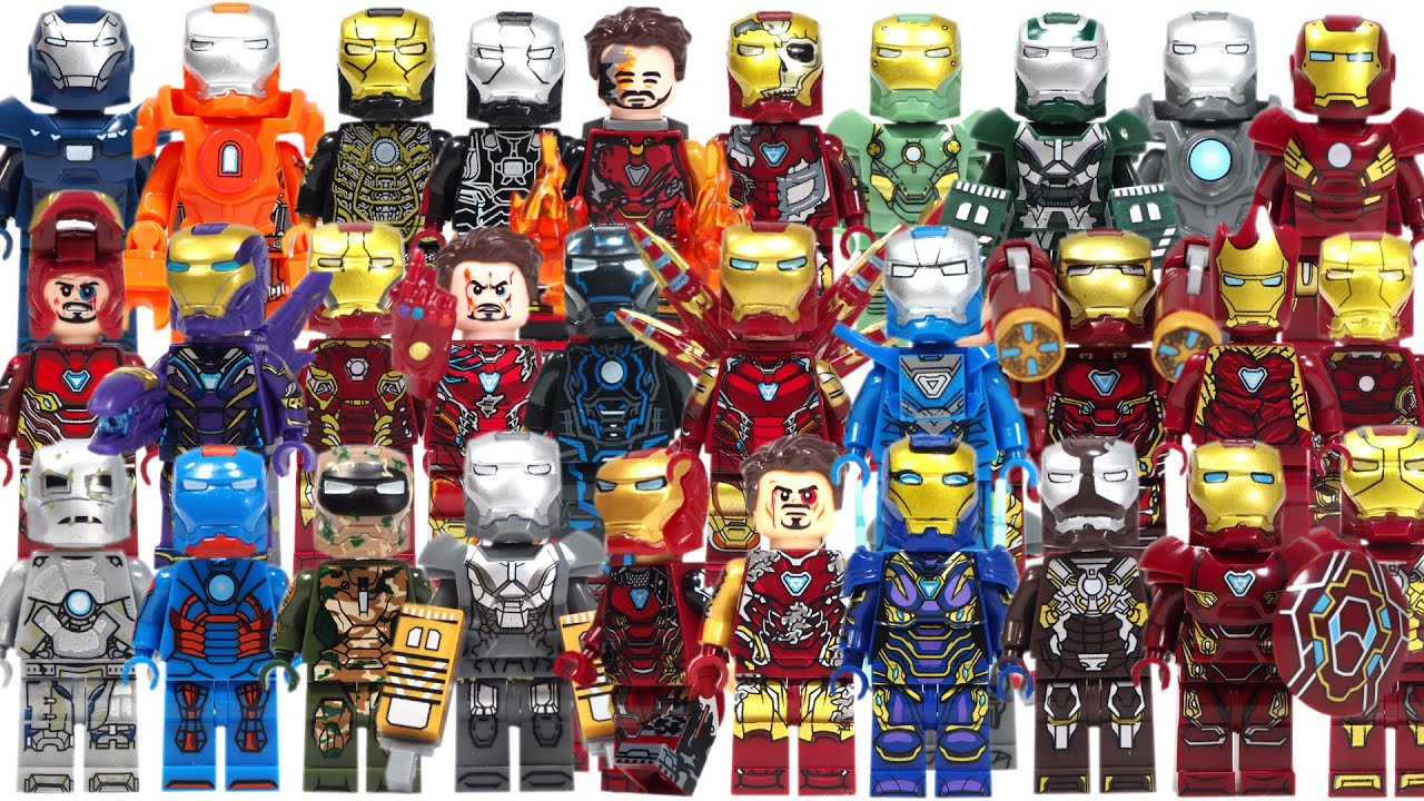 Iron Man Mark 26 Mini figure Avengers Endgame