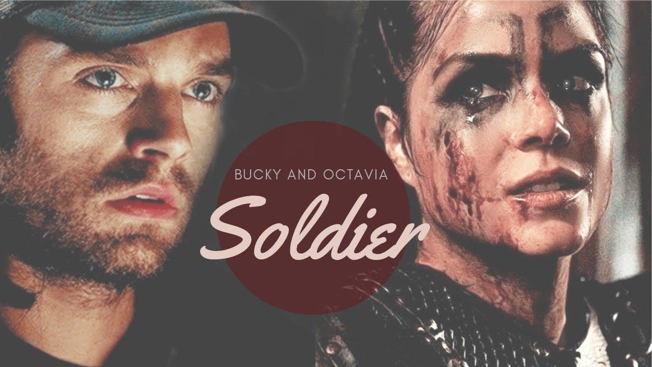 Bucky Barnes & Octavia Blake   Soldier