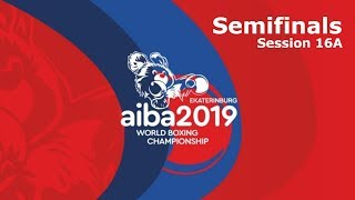 AIBA Men's World Boxing Championships 2019 Ekaterinburg. Day 11. Semi-finals