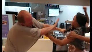 McDonalds Fight Over Straw