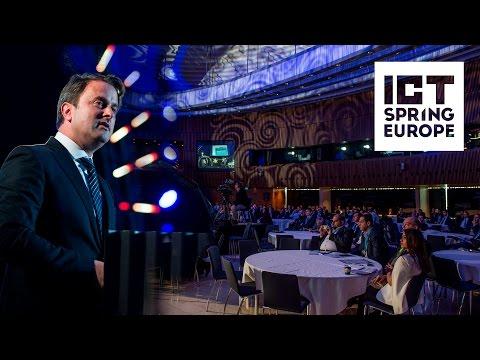 Xavier Bettel @ ICT Spring Europe 2017