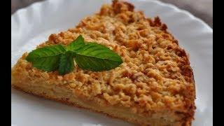 не детская кухня Песочный пирог с грушами