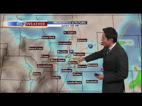 El tiempo: nieve en camino esta noche y mañana