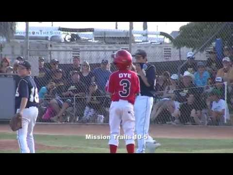 Mission Trails vs. Rolando, District 33 Little League Final, 7/5/14