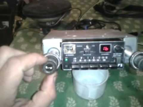 Jeep Wagoneer Cherokee >> AMC EAGLE AM/FM/CB RADIO JEEP WAGONEER CHEROKEE CHIEF J10 HONCHO CJ CJ7 CJ8 - YouTube