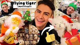 COME SHOP WITH ME *NEW IN* FLYING TIGER CHRISTMAS 2019 DECOR GIFT IDEAS | MR CARRINGTON