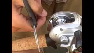 how to spool a baitcast reel