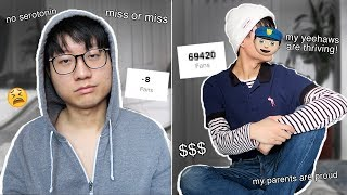 I changed my look in 24 hours and got tiktok famous