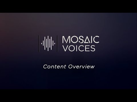 Heavyocity - Mosaic Voices - Content Overview