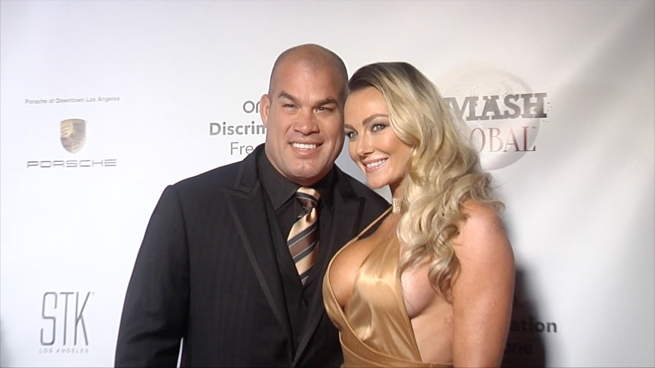 Tito Ortiz with hot, Girlfriend Amber Nichole Miller
